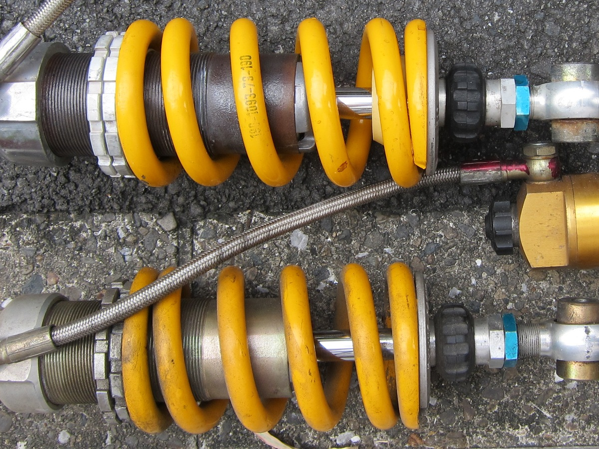 OHLINS 46HRCLのアップ